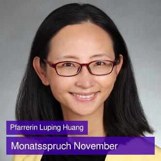 Foto Pfarrerin Luping Huang