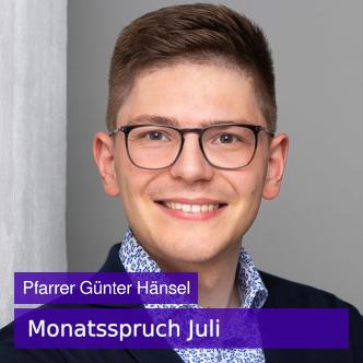 Foto Pfarrer Günter Hänsel